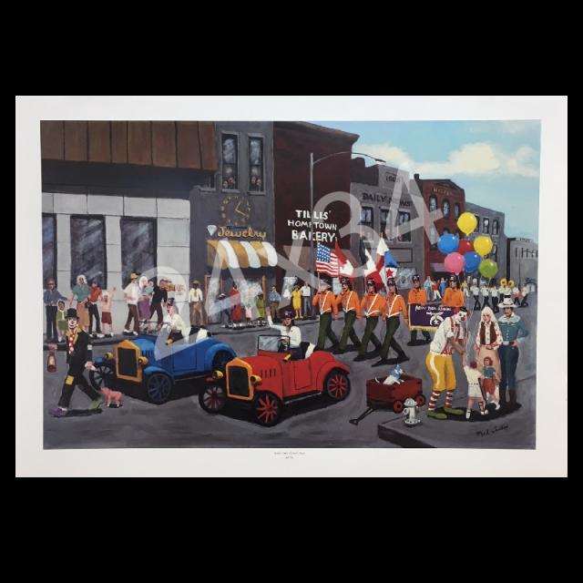 Mel Tillis Print- Home Town Shriner's Day