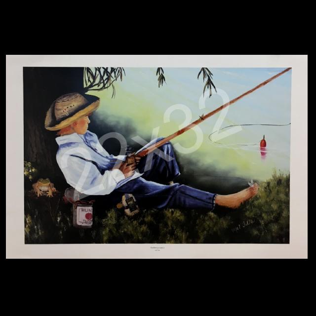 Mel Tillis Print- Huckleberry Summer