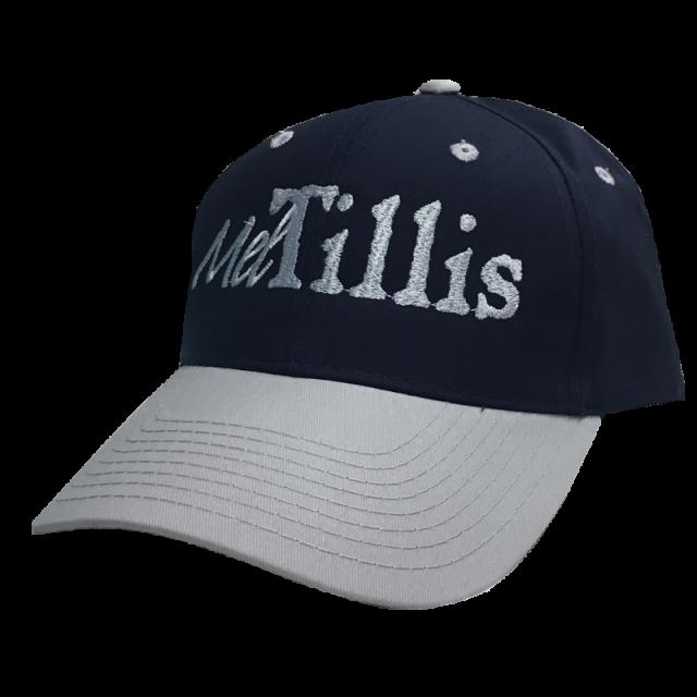 Mel Tillis Navy and Silver Ballcap