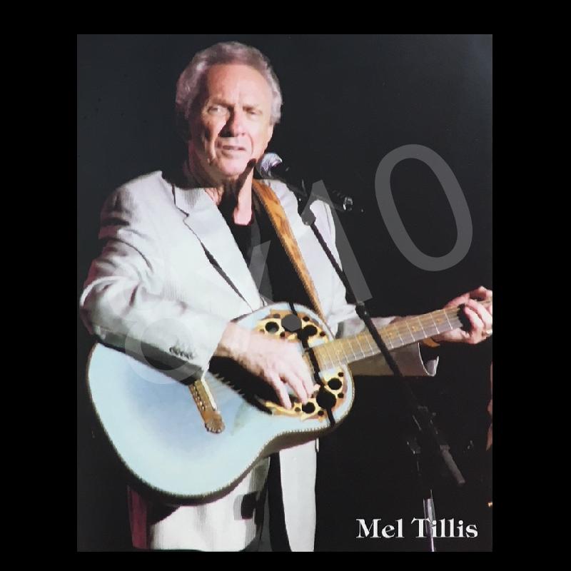 Mel Tillis 8x10- Grey Jacket