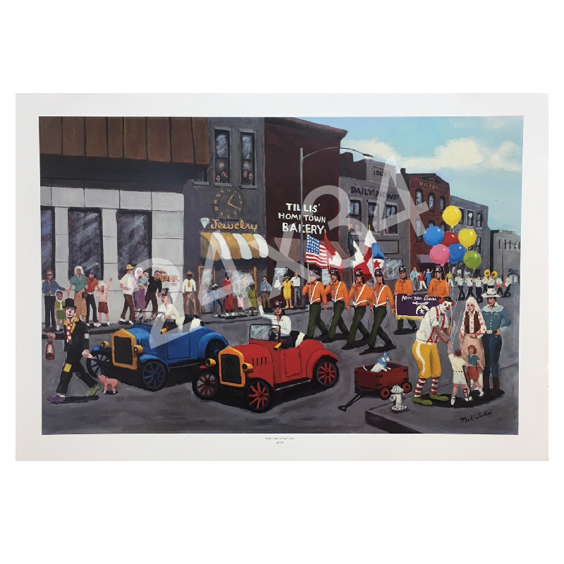 Mel Tillis Print- Home Town Shriner's Day