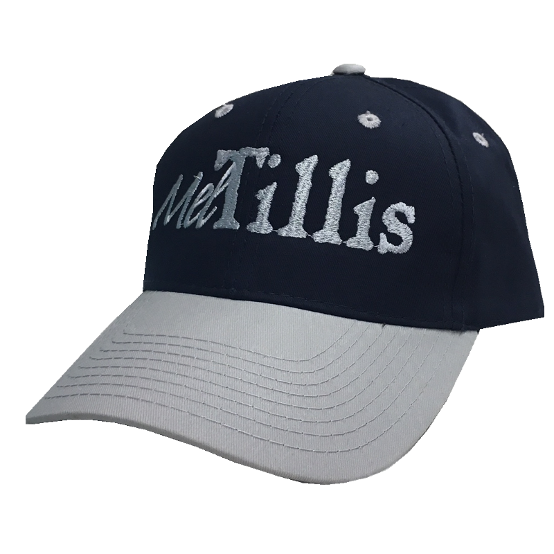 Mel Tillis Navy and Silver Ballcap