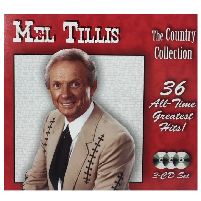 Mel Tillis 3 CD Country Collection