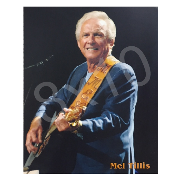 Mel Tillis 8x10- Blue Jacket