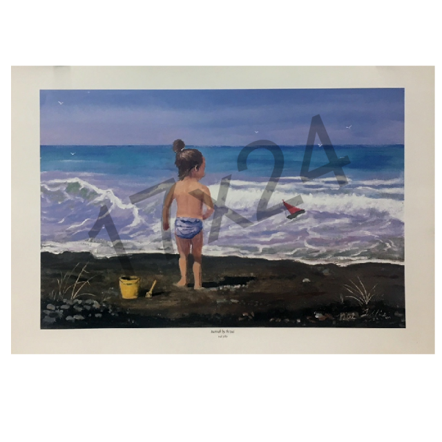 Mel Tillis Print- Hanna By The Sea