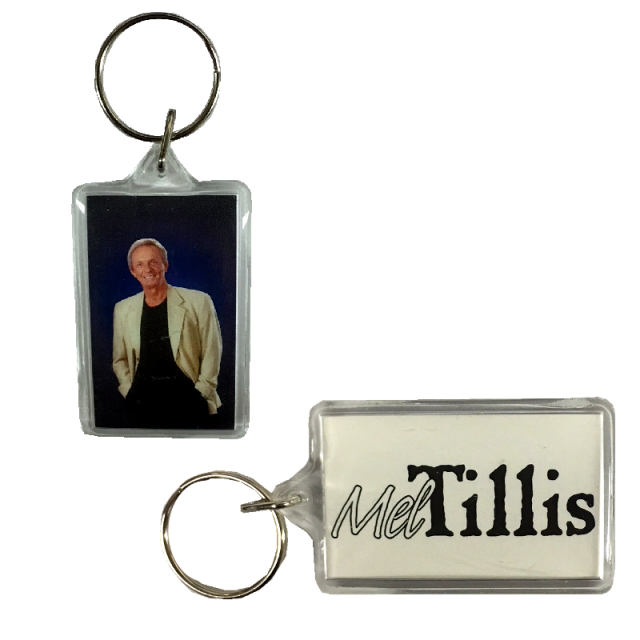 Mel Tillis Acrylic Keyring
